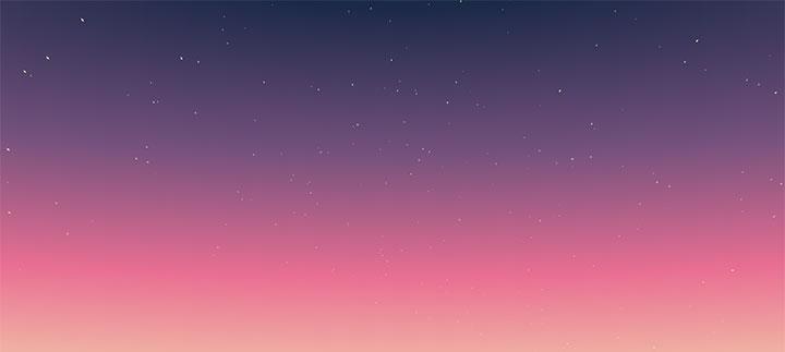 jQuery+CSS3星云密布旋轉背景動畫特效