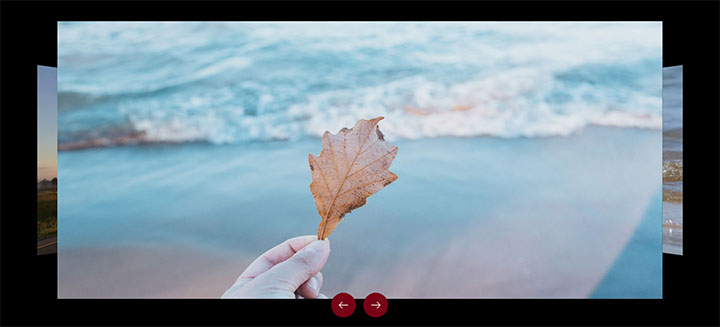 jQuery全屏响应式3D旋转幻灯片图片切换特效