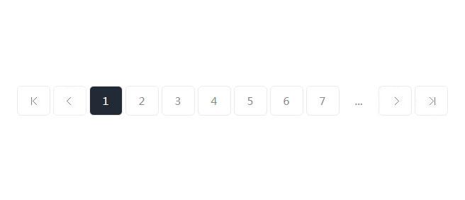 网站特效代码jQuery简易实用圆角分页查询按钮样式代码