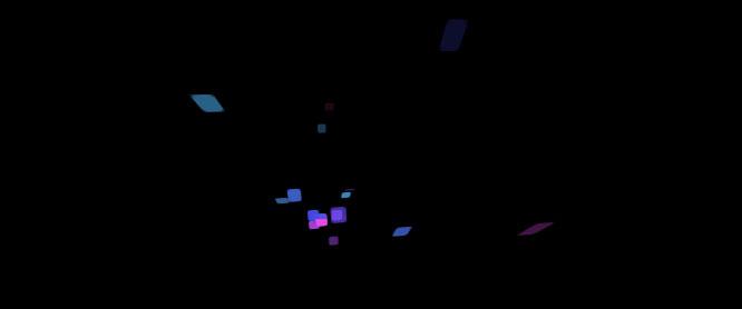 jQuery彩色碎纸屑元素飘飞动画特效