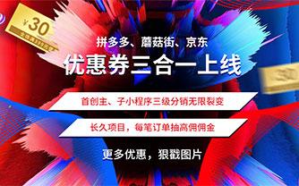 微擎小程序 拼多多客京东客蘑菇街V9.0.0+子程序