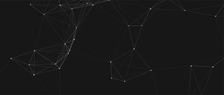 html5 canvas透明网状粒子背景动画特效