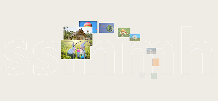 html5基于TweenMax制作层叠图片跟随鼠标移动动画特效