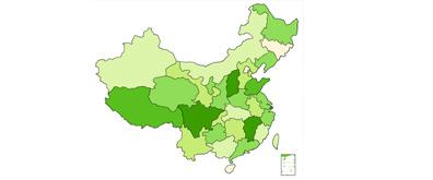 中国地图flash版本矢量图