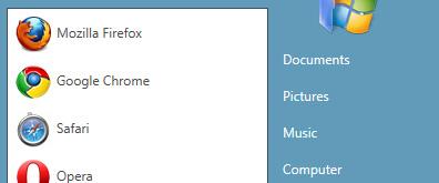 CSS3仿Windows 7的开始菜单