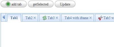 jquery实现的可增加关闭的tab标签效果