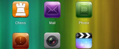 jquery制作仿iphone苹果手机界面触屏切换效果