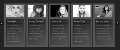 CSS 3实现的照片堆栈画廊插件