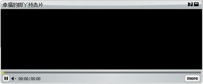 flash+xml制作的FLV播放器代码
