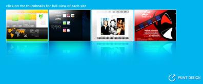 非常有个性的网站桌面式全屏滑动特效