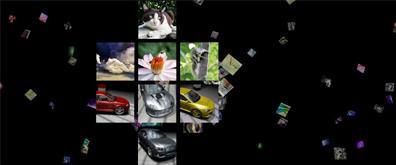 超酷全屏显示的3D FLASH画廊源代码