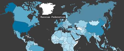 jquery+css实现世界地图放大缩小效果