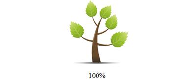 模拟树木生长过程loading加载