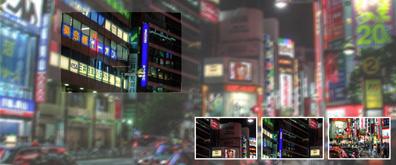 jquery+css模糊图片局部清晰效果