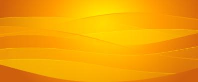 橘黄色flash波浪背景特效