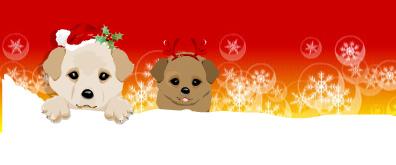 可爱卡通小狗动画flash素材