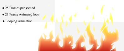 flash火焰燃烧动画素材