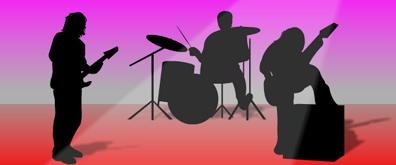 flash模拟乐队表演动画素材