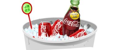 可口可乐公司经典flash广告源代码