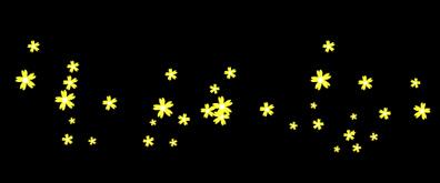 不断向上飞舞的花瓣flash素材
