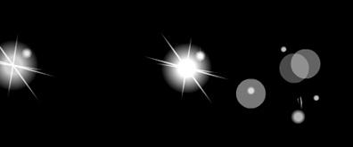 星星和圆圈flash透明素材