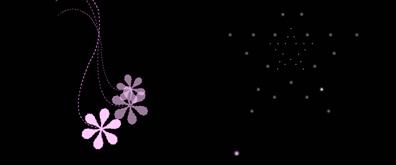 花儿和星星flash透明素材