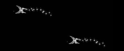 星星蝴蝶flash透明素材