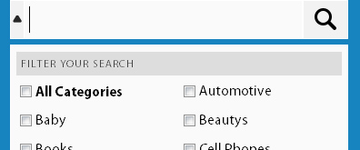 jquery搜索框下拉选择列表