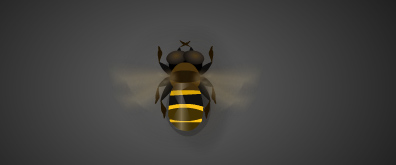 蜜蜂flash透明素材