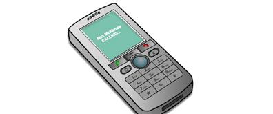 手机来电震动flash透明素材