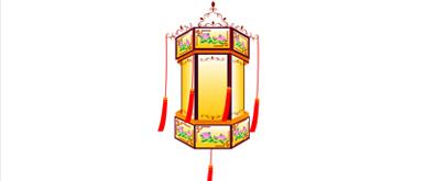 古典灯笼flash透明素材