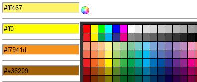 jquery输入框颜色选择器插件