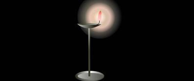 灯油芯烛光flash透明素材