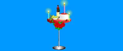 浪漫情侣生日蜡烛flash素材