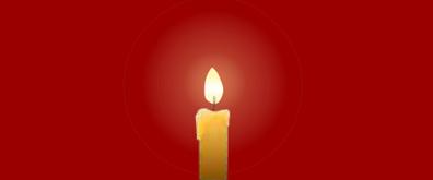 逼真的蜡烛flash矢量素材