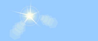 旋转太阳光光晕flash素材