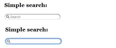 jquery模拟safari浏览器输入框获取焦点后边框阴影