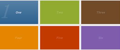jquery+css3交互式WIN 8风格导航菜单