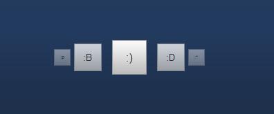多方向(角度)按钮旋转效果