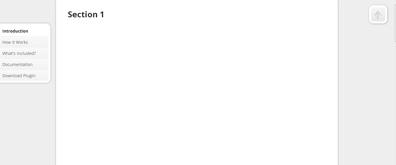 jquery左侧滑动可定位网页(支持上下滑动)