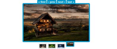 tab标签样式图片幻灯片切换效果