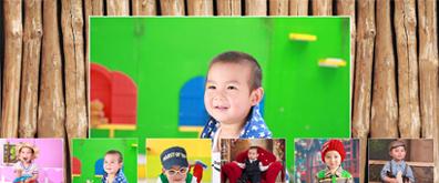 jquery全屏动态图片墙效果