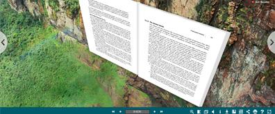 720度3D立体场景式超炫电子书效果