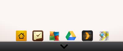 css3安卓Android(苹果iphone)桌面底部导航菜