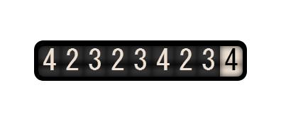jquery+css3类似抽奖效果的数字滚动加载插件