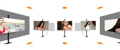 html5极速3D立体式图片相册切换效果