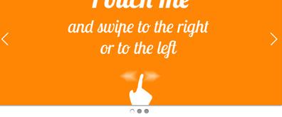 多种支持手机客户端、触摸屏滑动样式幻灯片轮
