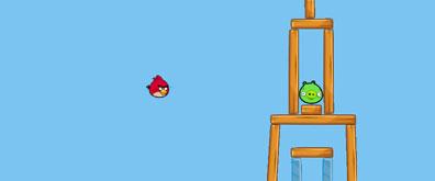 网页版HTML5愤怒的小鸟在线效果